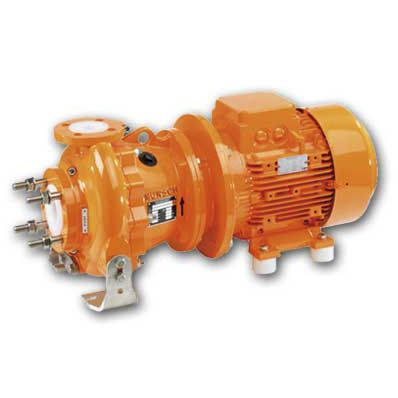 acid pump / for solvents / for bases / electric