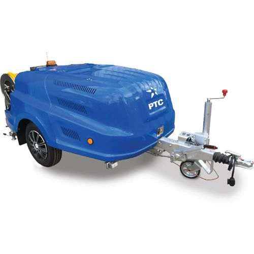 cold water cleaner / diesel engine / mobile / trailerable