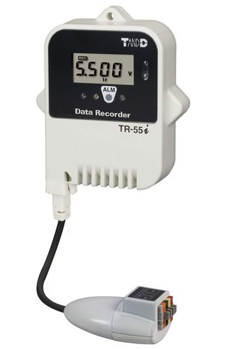 voltage data-logger / wireless / with screen / programmable