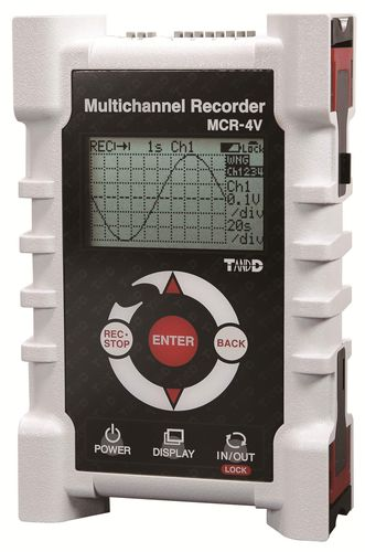 voltage data-logger / USB / with screen / programmable