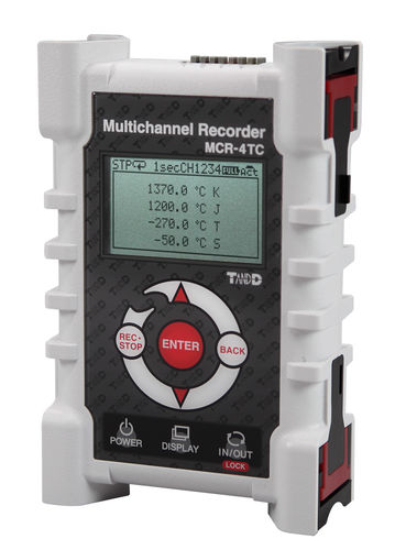 temperature data-logger / USB / with screen / for thermocouples