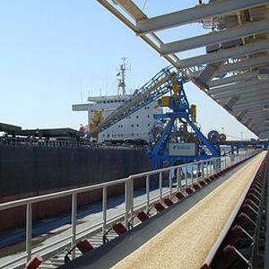 belt conveyor / for the mining industry / horizontal