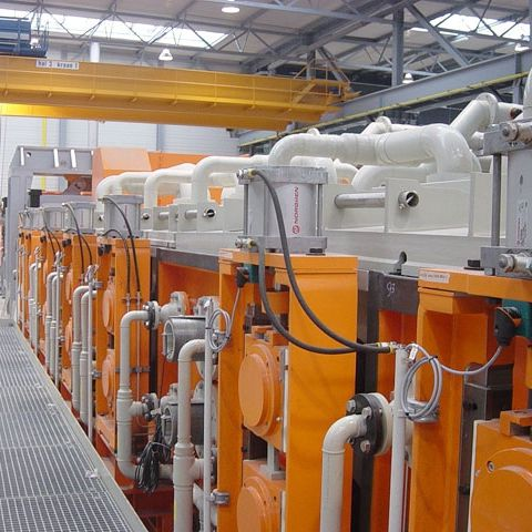 Hot-rolled steel sheet pickling line / chemical Fagor Arrasate S.Coop.