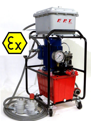hydraulically-operated pump / industrial / ATEX / for torque wrenches