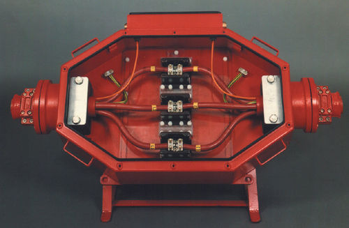 Explosion-proof splice box / high-voltage 11 kV | 16 – 300mm² | IP 65 | 73110 GOTHE & CO.