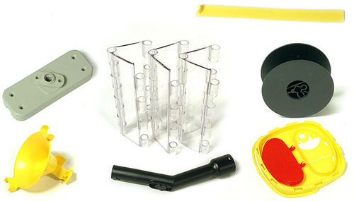 thermoplastic plastic injection / technical parts / aesthetic parts / large series