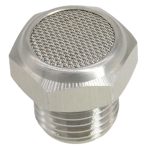 exhaust silencer / flow-control / for filters / for circular ducts