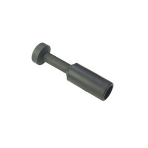 Threaded fitting / straight / pneumatic / composite material ø 1/8