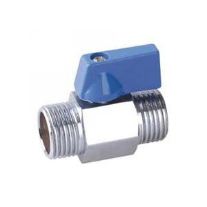 ball valve / pneumatically-operated / for gas / threaded