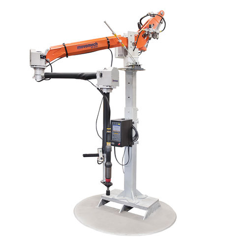 pneumatic manipulator / with gripping tool / for gripping / handling