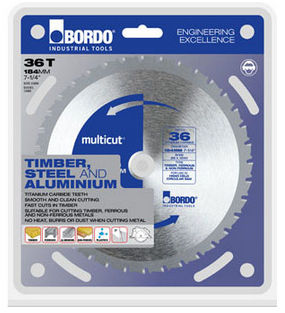 circular saw blade / TCT / for steel / for non-ferrous metals