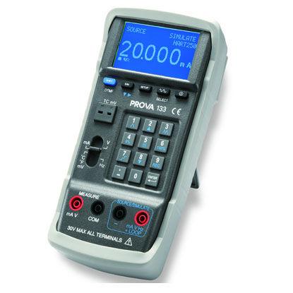 multifunction calibrator / temperature / current / voltage