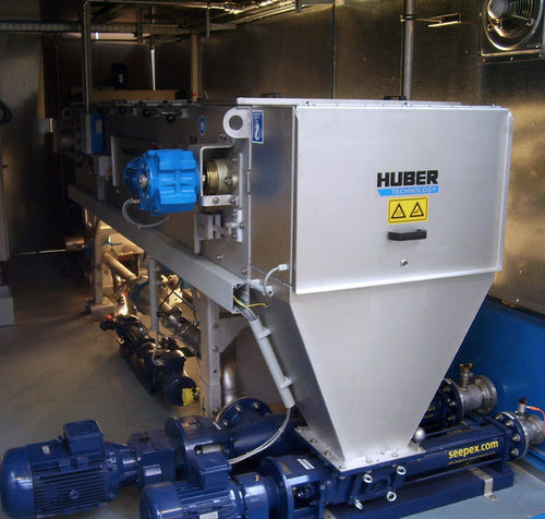 Thickener / belt / for sludge treatment DB Huber Technology
