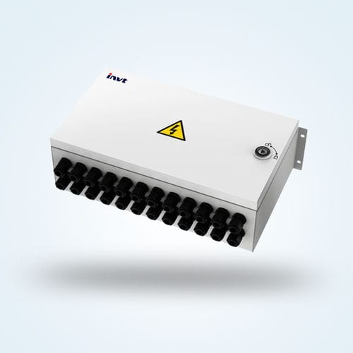 surface mounted junction box / IP65 / with cable gland / photovoltaic