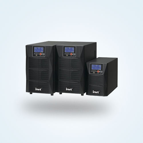 Double-conversion UPS / battery / with LCD display / over-voltage HT11 series  ShenZhen INVT Electric Co., Ltd.