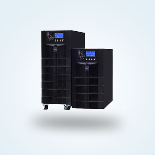 double-conversion UPS / single-phase / battery / with LCD display