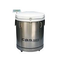 liquid tank / nitrogen / stainless steel / storage