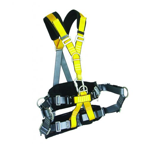 fall-arrest harness / lateral fixation point / D-ring / full-body