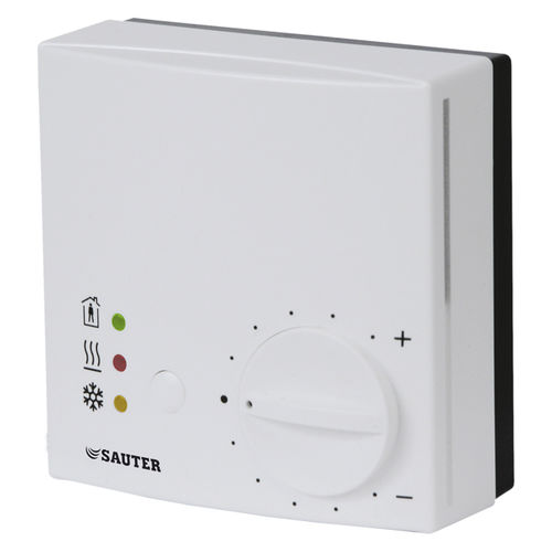 room thermostat / adjustable / wall-mounted / IP30