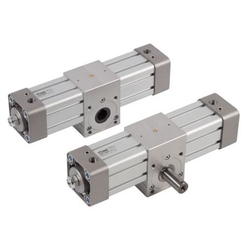 rotary cylinder / pneumatic / rack-and-pinion / double-acting