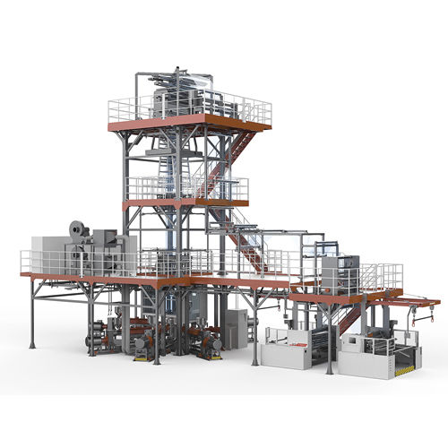 Blown film coextrusion line / 5-layer Barrier series Jinming Machinery (Guangdong) Co., Ltd.