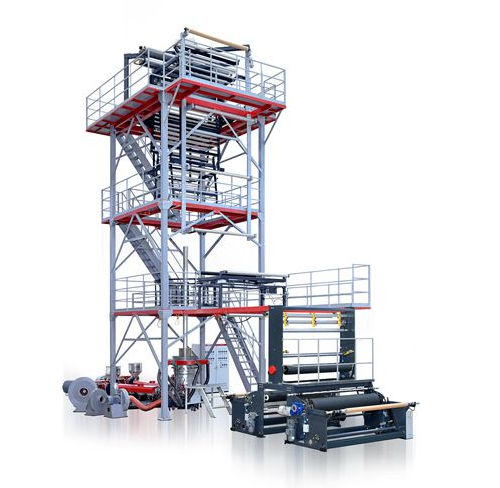 Blown film coextrusion line / 3-layer Valuex Jinming Machinery (Guangdong) Co., Ltd.