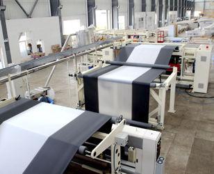 flat-film coextrusion line / 6-layer / barrier film