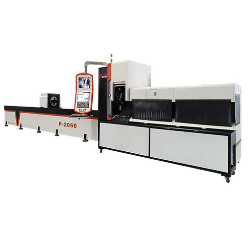 fiber laser cutting machine / for steel / for stainless steel / for tubes