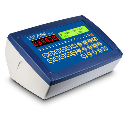 digital weighing terminal / LED display / panel-mount / IP54