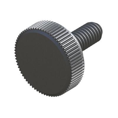 knurled screw