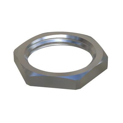 hexagonal nut / flat / metal