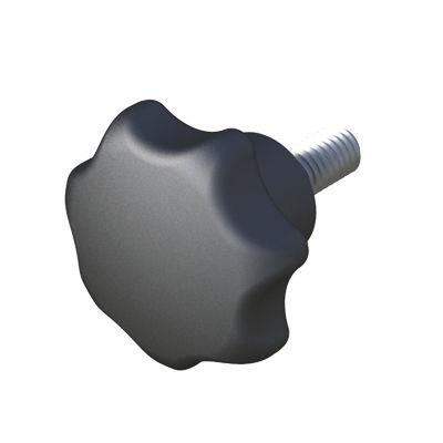 threaded knob / star / polyamide