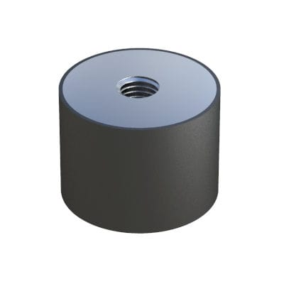 vibration damper / friction / for machines / steel