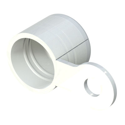 threaded cap / round / low-density polyethylene / polyethylene