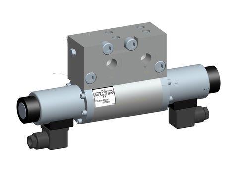 spool pneumatic directional control valve / 4/2-way