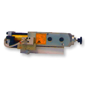 piston valve / electropneumatic / flow control / grease