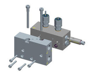 4/2-way hydraulic directional control valve / modular