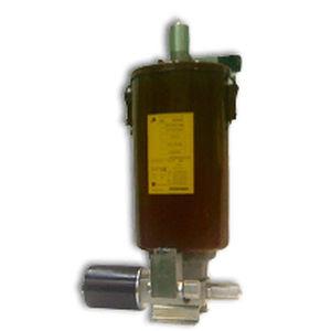 grease pump / pneumatic / piston / steel