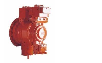 hydraulically-operated valve / load-control / for oil