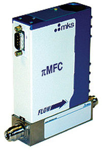 thermal mass flow controller / for sour gas / digital