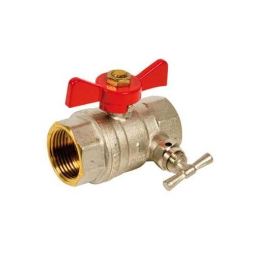 ball valve / manual / for water / female-female