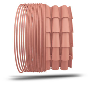 Polymer filament / for 3D printers CLAY TreedFilaments