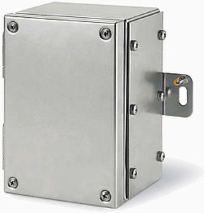 wall-mounted junction box / explosion-proof / sheet steel