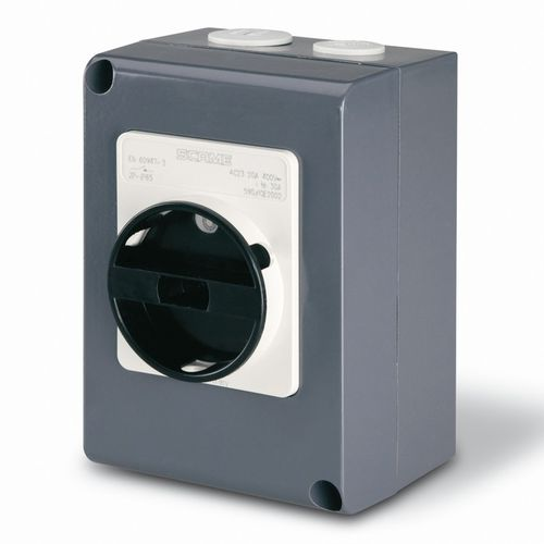 rotary disconnect switch / low-voltage / enclosed / aluminum
