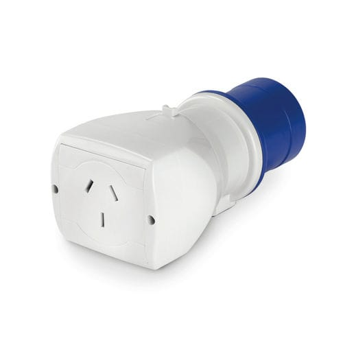 electric adapter / compact / straight