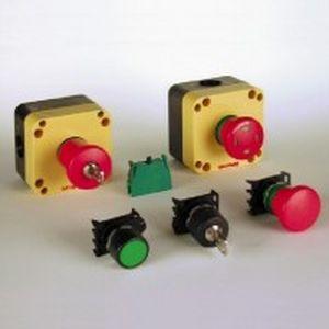 mushroom switch / single-pole / electromechanical / emergency stop