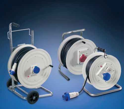 cable reel / manual / transportable