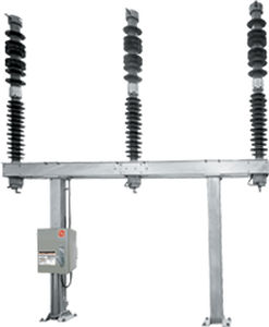 SF6 gas-insulated circuit breaker / gas-insulated / high-voltage