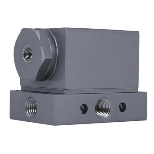 4-way valve / plug / pneumatically-operated