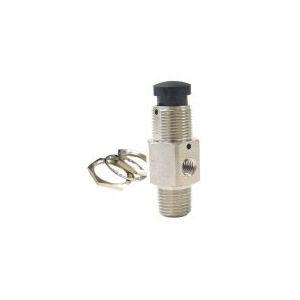 plug valve / manual / brass / compact